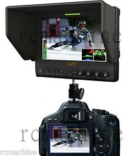 Lilliput 7 663/O/P2 IPS Peaking Focus HDMI In Out Monitor+Hot shoe stand+cable