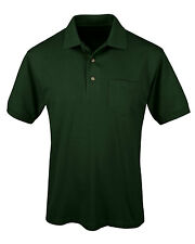 Tri-Mountain Men's Big And Tall Short Sleeve Pocket Sport Polo T-Shirt. 096-Tall