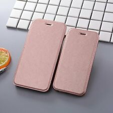 Leather Wallet Cards Holder Stand Clear Slim Flip Case Cover For iphone 6S 7Plus