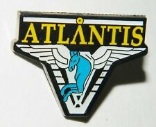 Stargate Atlantis Pegasus Shoulder Logo Enamel Metal Pin, NEW UNUSED