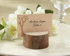 96 Rustic Wood Place Card and Photo Holder Wedding Shower Favors