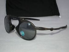 NEW OAKLEY POLARIZED MADMAN OO6019-02 PEWTER/BLACK IRIDIUM POLARIZED X-METAL