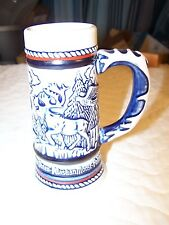 Avon Vintage Mini Beer Stein - Alaskan Animals - No Reserve