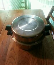 VOLLRATH QUEEN'S 3 PLY STAINLESS STEEL 304-S STOCK POT W/ HIGH DOME LID