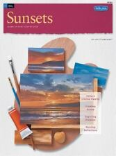 How to Draw And Paint Ocean Sunsets