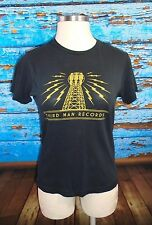 THIRD MAN RECORDS Black T Shirt M Jack White The White Stripes Nashville TN