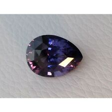 Natural Spinel 11.37ct Bluish Violet changing to Purple Color Very Eye Clean