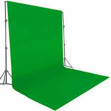 10 x 20ft Chromakey Green Screen Muslin Background Backdrop 130gsm Fabric