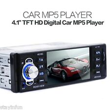 DC12V 4.1 Inch AUX Interfaces Stereo Radio FM MP5 HD Digital Car Video Player