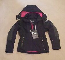NEW TRESPASS SLENDER DLX  LADIES SKI  JACKET (LARGE)  BLACK