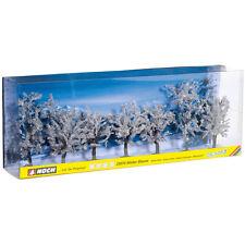 NOCH 25075 Winterbäume 7 Stück, 8-10 cm hoch (Spur H0/TT/N/Z) ++ NEU & OVP ++