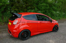 Pop Carbon Blade & FRP Base Rear Spoiler Wing For Ford Fiesta ST Facelift RS