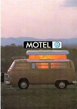 Volkswagen Transporter 2000 Bay Window Caravans 1976 Australian Market Brochure