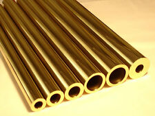 Albion Alloys MBT3M - 3 x 0.9mm OD x 0.45mm ID x 305mm Long Round Brass Tube New