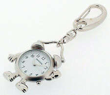 Novelty Alarm Clock Man Keyring Miniature Clock