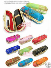 Wholesale 4pcs Chinese Handmade Vintage Handmade Silk Lipstick &Jewerly Boxes