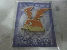 Patamon Metal Pin Badge Button (Digimon Adventure 02 tri. Takeru TK T.K. Japan)