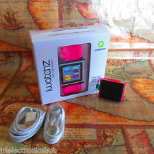 ~SAVE~Apple iPod Nano 6th Generation Pink 8 GB+Watchband Pink