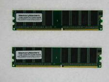 2GB 2X 1GB DDR PC-3200 PC desktop RAM Memory TESTED