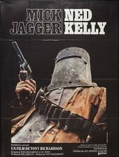 NED KELLY French Grande movie poster 47x63 MICK JAGGER 1970 WESTERN