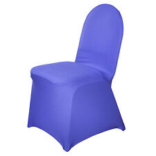 Purple SPANDEX High Quality Stretchable CHAIR COVER  Wedding Decoration Dinner