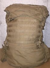 USMC FILBE MARINE REPLACEMENT RUCKSACK MAIN PACK COYOTE BROWN USGI VG