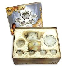 DISNEY BEAUTY AND THE BEAST LIVE ACTION LIMITED EDITION FINE CHINA TEA SET--NEW
