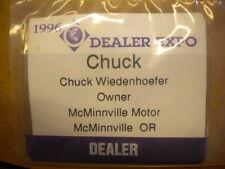 Vintage 1996 Dealer Expo Pass Badge