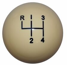 Ivory 4 Speed lke Hurst Shift Knob