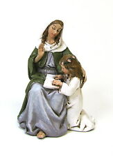 Statue St. Anne 2.5 inch Painted Resin Joseph Studio Patron Saint Catholic Home