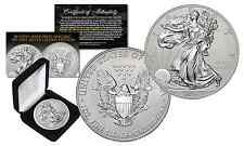 2016 US .999 Silver Eagle 1 oz Coin w/ Reverse Mirror Image & Frosting - SILVER