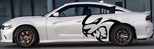 HUGE Dodge Decal Graphic Vinyl CHARGER MOPAR SRT LOGO HEMI 392 Hellcat hell cat