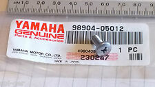 Yamaha New Genuine Sensor / Fuel Clamp / Cowl Panel Binding Screw 98904-05012