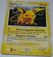 Holo Foil Raichu # DP21 Diamond & Pearl Promo Star Set Pokemon Trading Cards DA