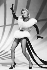 Vera-Ellen 11x17 Mini Poster leggy in showgirl costume