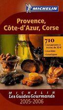 guide michelin - les guides gourmands - provence cote d'azur