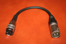 Cable adaptador kleintuchel/din female-XLR male Tuchel para md421 md441