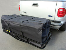 "58"" Large Cargo Carrier Bag RV Truck Hitch/Roof Top Rack Luggage Water-Resistant"