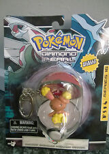 Pokemon Buneary Figure with poke ball Diamond & Pearl Key Chain New Carded