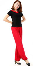 Women Harem Loose Long Pants Yoga Dance Belly Dance Casual Boho Wide Trousers