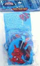 Party Favors Pack SPIDER-MAN Birthday Loot Bag Filler 20 Piece