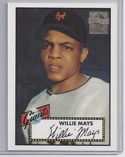 1996 Topps commemorative set #2 Oversized card WILLIE MAYS giants
