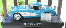 Solido ~ 1958 Chevrolet  Corvette  Hardtop (removeable) - Blue ~ 1:12 ~ Diecast