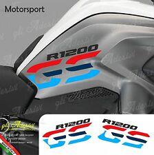 Set Adesivi Fianco Serbatoio Moto BMW R 1200 gs LC Motorsport