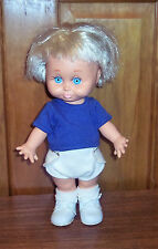 Vintage 1990 Baby Face Doll So Sorry Sarah #6 Galoob Pouty Face Adorable HTF