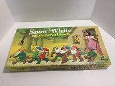Vintage 1977 Snow White and the Seven Dwarfs board game Cadaco Inc. NICE!