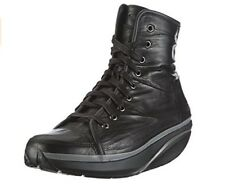 MBT Women's Nafasi Mid Laceup Black Boot  size (US) 7-7.5 (EU)  38 (Limited )