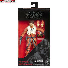 Poe Dameron Star Wars Black Series Action Figure Hasbro Takara Tomy