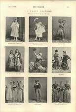1895 Christmas Fancy Costume Dorothy Ogden Dora Little Croftons