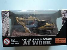 NORSCOT  CAT   320D L  HYDRAULIC  EXCAVATOR  WEATHERED   AT WORK   1/87   HO